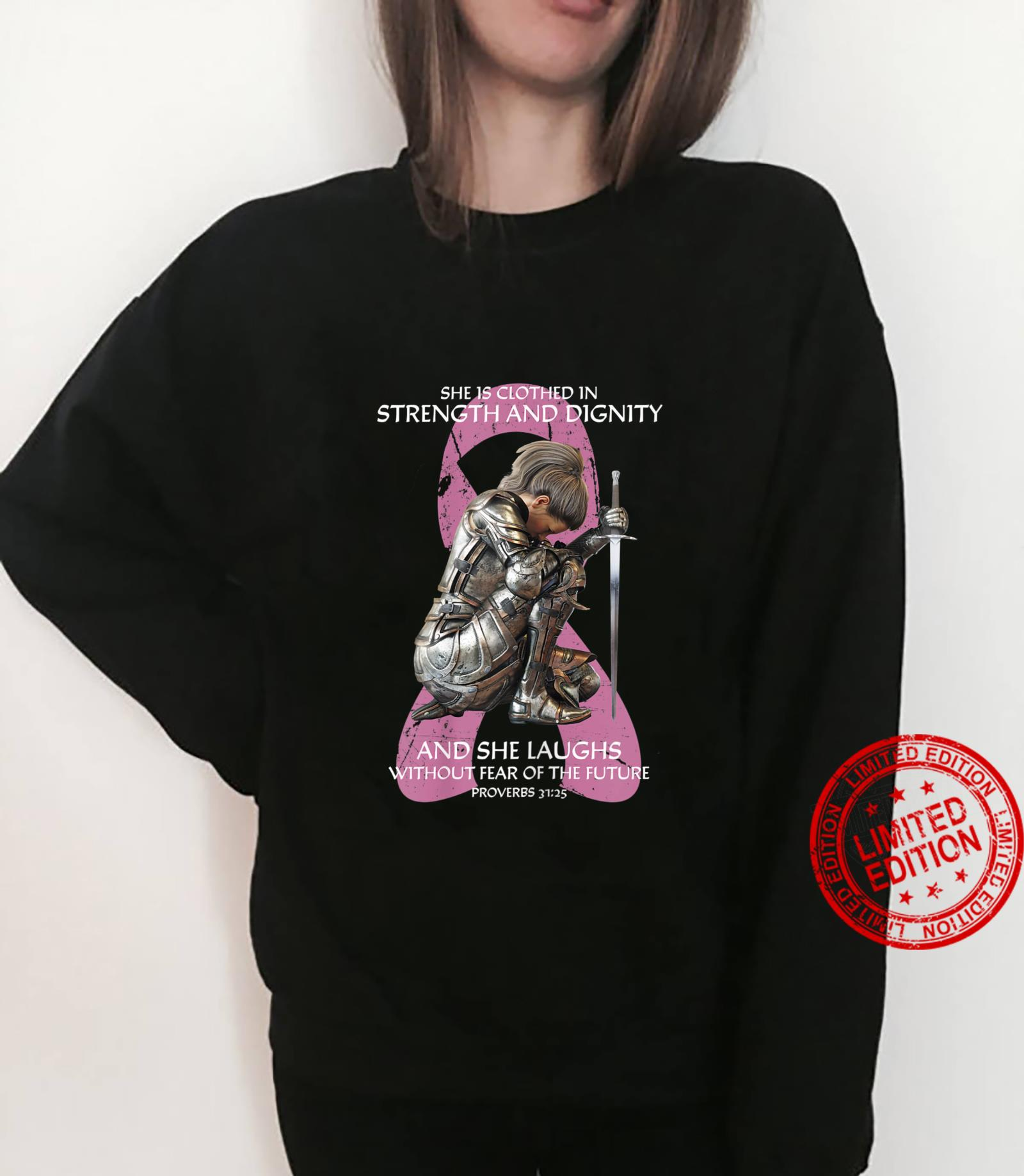 She is Clothed In Strength aAnd Dignity Shirt sweater